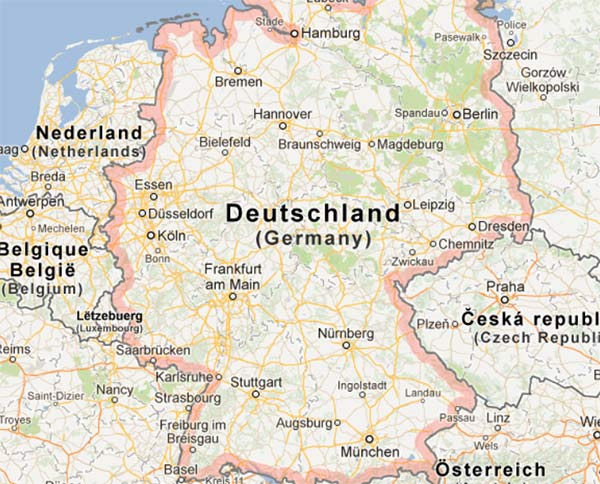 geografska karta nemacke gradovi Vaš prevoz do Nemačke | Prevod robe i selidbe | Beograd  geografska karta nemacke gradovi